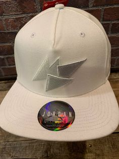 c46b568672eca JORDAN Brand Retro 7 All White Snapback Adult Cap Hat NEW NWT 843075-100   fashion  clothing  shoes  accessories  mensaccessories  hats (ebay link)