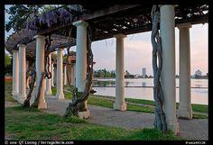 Colonade in Oakland, California, USA
