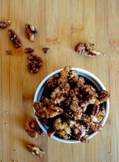 Maple Roasted Nuts
