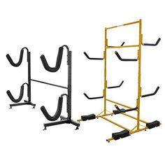 Constructed of heavy duty powder coated steel, these deluxe quality freestanding kayak racks are ready to withstand elements if you decide to use it outdoors. Ready for any kayak or SPB's on the market today, these kayak rack can stand up to your needs. The RAD Sportz Deluxe Freestanding... more details available at https://perfect-gifts.bestselleroutlets.com/gifts-for-holidays/water-sports-items/product-review-for-rad-sportz-deluxe-freestanding-heavy-duty-kayak-racks-fo