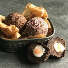 The most exciting confectionery and sweets recipes including Turkish delight & chocolate fondant are on Baking Mad. Sweets Recipes, Easter Recipes, Brownie Recipes, Egg Recipes, Easy Desserts, Baking Recipes, Easter Food, Easter Ideas, Easter Crafts