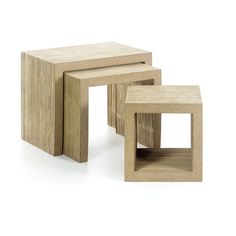 LOW TABLE SET BY FRANK GEHRY