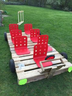 25 Beautiful Outdoor Kids Projects With Recycled Pallets Home Design And Interior is part of Outdoor kids Kids are always happy to play and when they get bored inside the house, the outdoor play s -