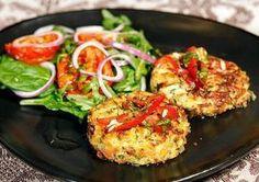Oj oj oj inte ens en köttbittt skulle slå det här. En vegetartisk rätt som slår alla vegetariska rätter vi har ätit innan. Vi serverade dessa biffar med en chilivinegrette, semitorkade tomater och… Raw Food Recipes, Veggie Recipes, Vegetarian Recipes, Cooking Recipes, Healthy Recipes, Steaks, Greens Recipe, Vegetable Dishes, Food Inspiration