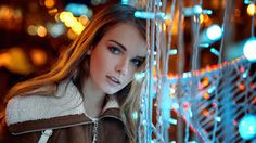 Ira by Georgy Chernyadyev (Portrait) / Arcadia Bay, Clover App, Lightroom, Photoshop, Night Portrait, Urban Fashion Photography, Cool Photos, Pictures, Beauty