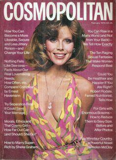 Cosmopolitan magazine, FEBRUARY 1975 Model: Anne-charlotte Photographer: Francesco Scavullo