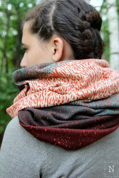Chunky Sweater Knit Scarf  LIMITED EDITION by Northernly on Etsy  Modeling by Kenzie Meyerson
