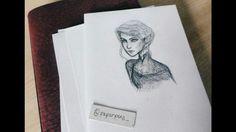 Feyre drawing ACOWAR