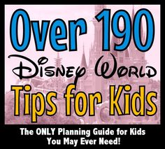 planning guide for a kids vacation