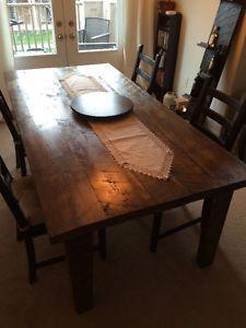 Custom Hand Made Harvest Tables Oakville Halton Region Toronto GTA Image 1