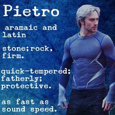 Pietro Maximoff // Quicksilver // #aou #avengers #marvel