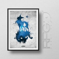The Last Unicorn : Animated Icons Print by RPGCreative on Etsy