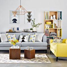 Small Living Room Decorating Ideas - Make it modern