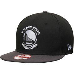 Golden State Warriors New Era 9FIFTY Snapback Adjustable Hat – Black/Graphite