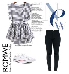 """""""set"""" by selmamehinovic112 ❤ liked on Polyvore featuring Converse"""