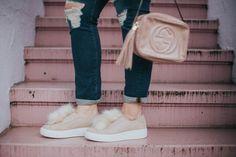 Pom Pom sneakers, Steve Madden Bryanne, Gucci Disco Bag
