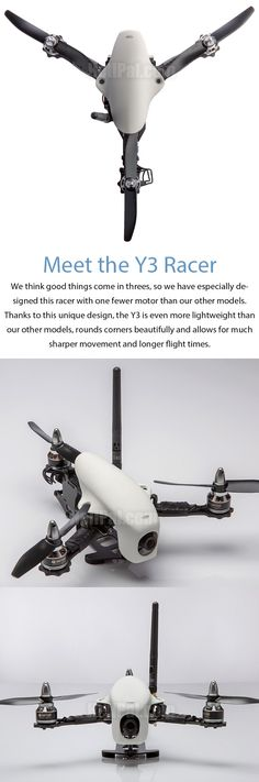 Storm Multirotors STORM Racing Drone (BNF / SRD-Y3 / CC3D) - HeliPal