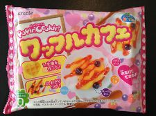 KRACIE POPIN COOKIN WAFFLE CAFE KIT.DIY Japanese candy.Happy Kitchen.Poppin