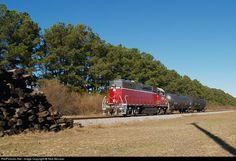 RailPictures.Net Photo: NCVA 3808 North Carolina and Virginia EMD GP38-2 at Boykins, Virginia by Nick McLean