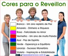 significado das cores para reveillon, cores de roupa para usar no reveillon
