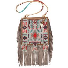 Etro Beaded Fringe Crossbody Bag