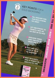 Cheat sheet to a better backswing. | Golf Lessons For Women | Golf Lessons | Golf Lessons Tips. Most popular girls lesson programs for beginner to experienced golf enthusiasts, at the ... #golfshot #golfphotography #Par for the Course