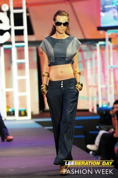 Lee Jeans for Philippine Fashion Week (trousers by Erika Hoffmann)