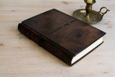 Bitacora cuaderno piel, cuaderno a5, regalo para hombre, grimorio, libro firmas, cuaderno artesanal, libro de hechizos, diario antiguo