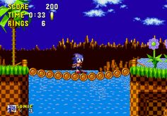 Sonic - playing sonic on sega with my brother when I was little. We loved that game and played it for hours on end