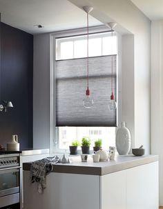 plissegordijnen, plisse, duettes, duetten, raamdecoratie, moderne keuken. Bestel eenvoudig en voordelig raamdecoratie op maat bij maatstudio.nl