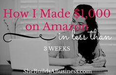 I'm excited to share with you a few more details about my newest business venture….selling products through Amazon FBA. This is a new business I just launch on December 10th and I&#8217…