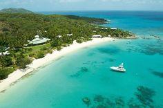 Retreat to the white sand beaches of Lizard Island, Australia.