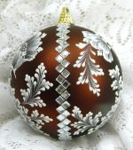 Large Bronze with Bling Ornament