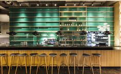 Wroclaw-based firm Buck Studio has created a striking design for new bar and bistro Dinette, located in the city's Old Town district. Favouring a lightness of touch and clean, rigorous lines, the architecture studio has elegantly outfitted the space wi...
