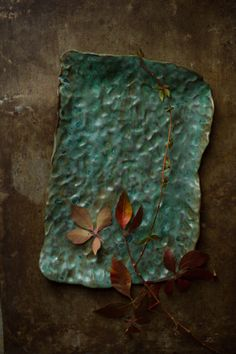 Rain platter by FeastAndFern on Etsy