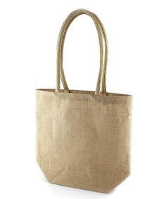 Our Papey tote bag is perfect for your trip to the shops! Bottom gusset  construction gives this jute bag an everyday look.Available in Natural Jute 7db67ff576b93