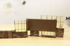 A chocolate replica of the new Pizzagalli Center at Shelburne Museum in the works!