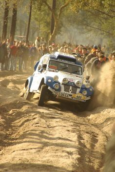 Citroën CV2 Rally Car