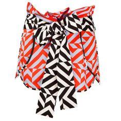 Lottie Geometric Print Shorts | Siobhan Molloy | Wolf & Badger / Women / Clothing / Skirts & Shorts