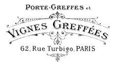 Gráficos con tipografía francesa - Sweet Things
