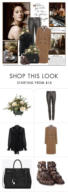 """Train your mind to see the good in everything!!"" by lilly-2711 ❤ liked on Polyvore featuring Prada, Balenciaga, Isabel Marant, Yves Saint Laurent and Givenchy"