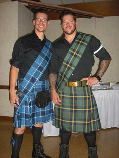 Scottish/Irish Sash - Cause a man in a kilt is a man-and-a-half