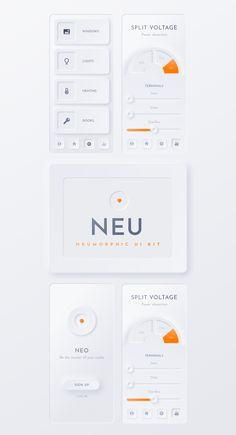 interface design The Neumorphic Soft UI lIbrary. Neumorphism is the latest look in UI with this pack You can quickly prototype apps and websites with the Neumorphic feel This kit Banner Web Design, Layout Design, Web Layout, Web Design Studio, App Ui Design, Interface Design, Web Design Trends, Design Web, Web Design Tutorial