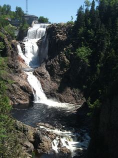 Sept Chutes, St. Ferreol des Neiges.  Definitely worth the hike