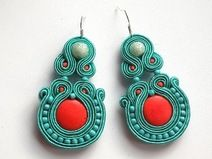 Sunset  - soutache - soutage