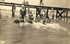 Palanga (Lithuania) beach, 1927.