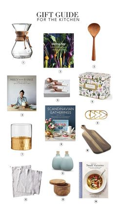 A great gift guide for your friends who love to be in the kitchen!