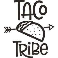 Silhouette Design Store: taco tribe