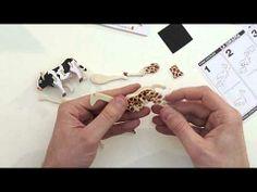 Puzzle di legno in 3D