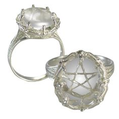 pentagram ring silver pamela love style i love jewelry pinterest wedding wedding ring and coven - Wiccan Wedding Rings